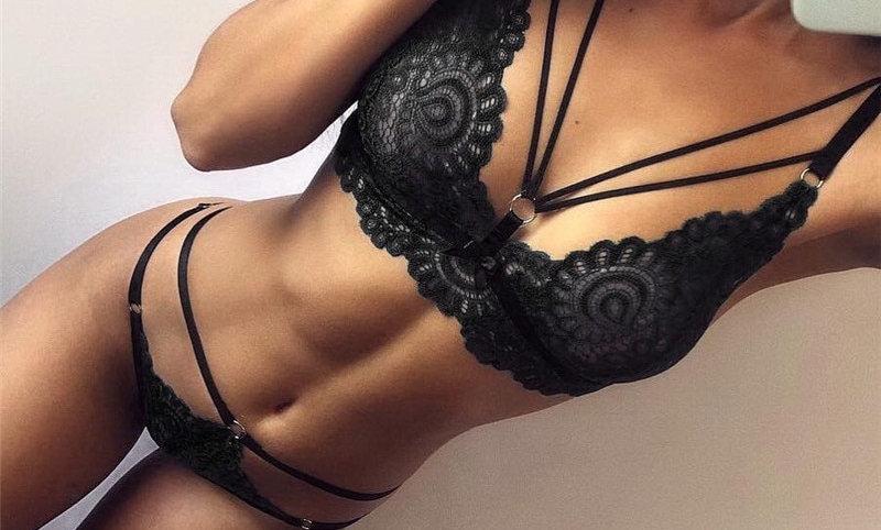 Plus Size Hot Women's Lingerie, Sexy Bikini