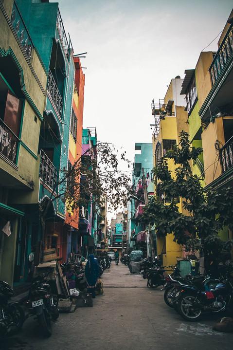 indian favelas