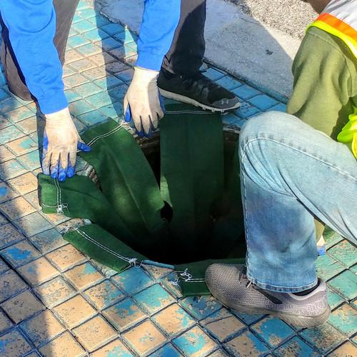 "24"" Round Manhole Filter"