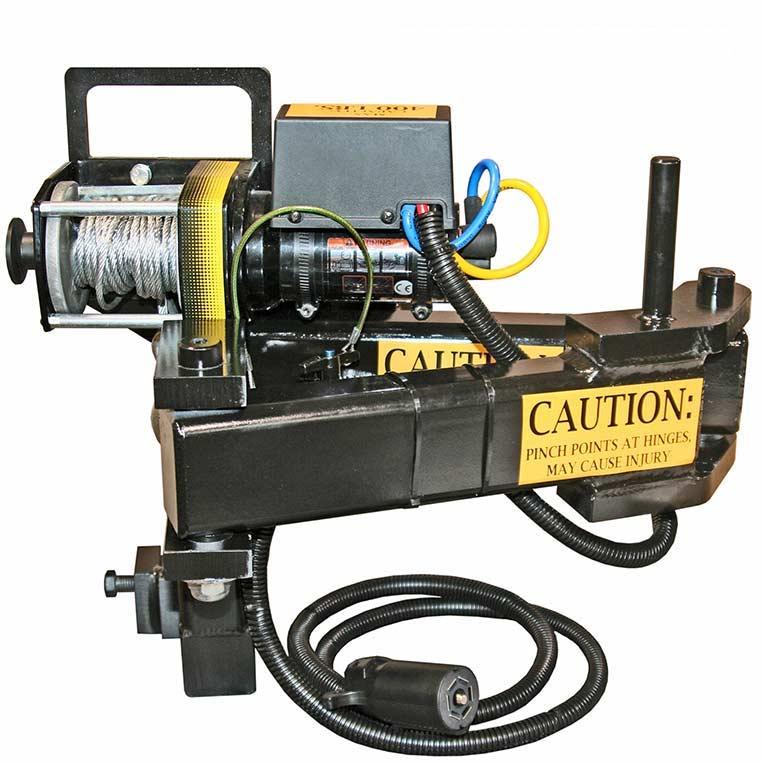 Manhole PowerArm Electric Winch