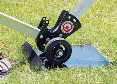 Manhole Dolly Wheel Chock