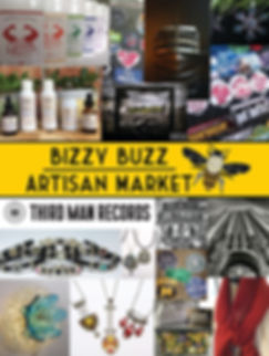 A collage of some of the Artisan goods Bizzy Buzz Artisan Market will have in their store this Spring 2018