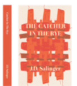 Book cover design of Catcher in the rye