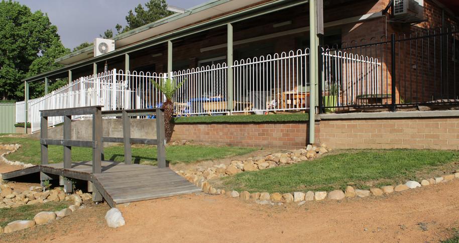 Playground Frontage