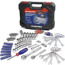 Workpro 145 Piece 1.4-inch and 3.8-inch