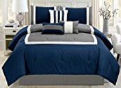 Blue_White Bed Set