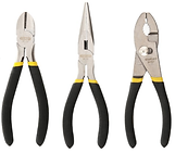 STANLEY 3pc Plier Set