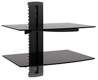 Impact Mounts 2 Tier Dual Glass Shelf fo