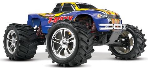 TRAXXAS T-Maxx Classic 4WD 1-Blue Nitro