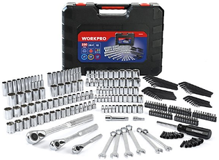Workpro 230 Piece 1.4-inch and 3.8-inch