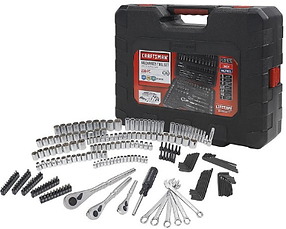 Craftsman 230 Piece 1.4-inch and 3.8-inc