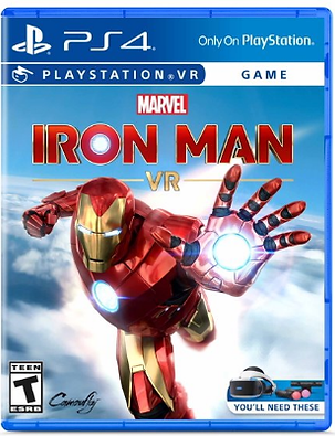 Marvel's Iron Man VR, PS4 game