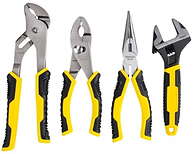 STANLEY 4pc Adjustable wrench and Plier