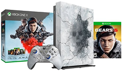 XBox one 1Tb gears 5 bundle artic blue C