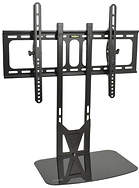 ViVO Fixed Tilt and Entertainment Shelf