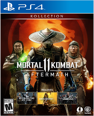 MK11 Aftermath Kollection Ps4 Game
