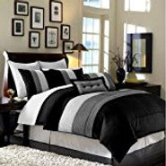 Black/White Bed Set