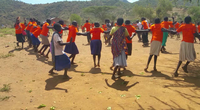 DANCING IN CELEBRATION OF SAYING NO TO FGM