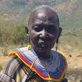 Elderly Pokot Woman