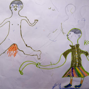 A girls depiction of FGM
