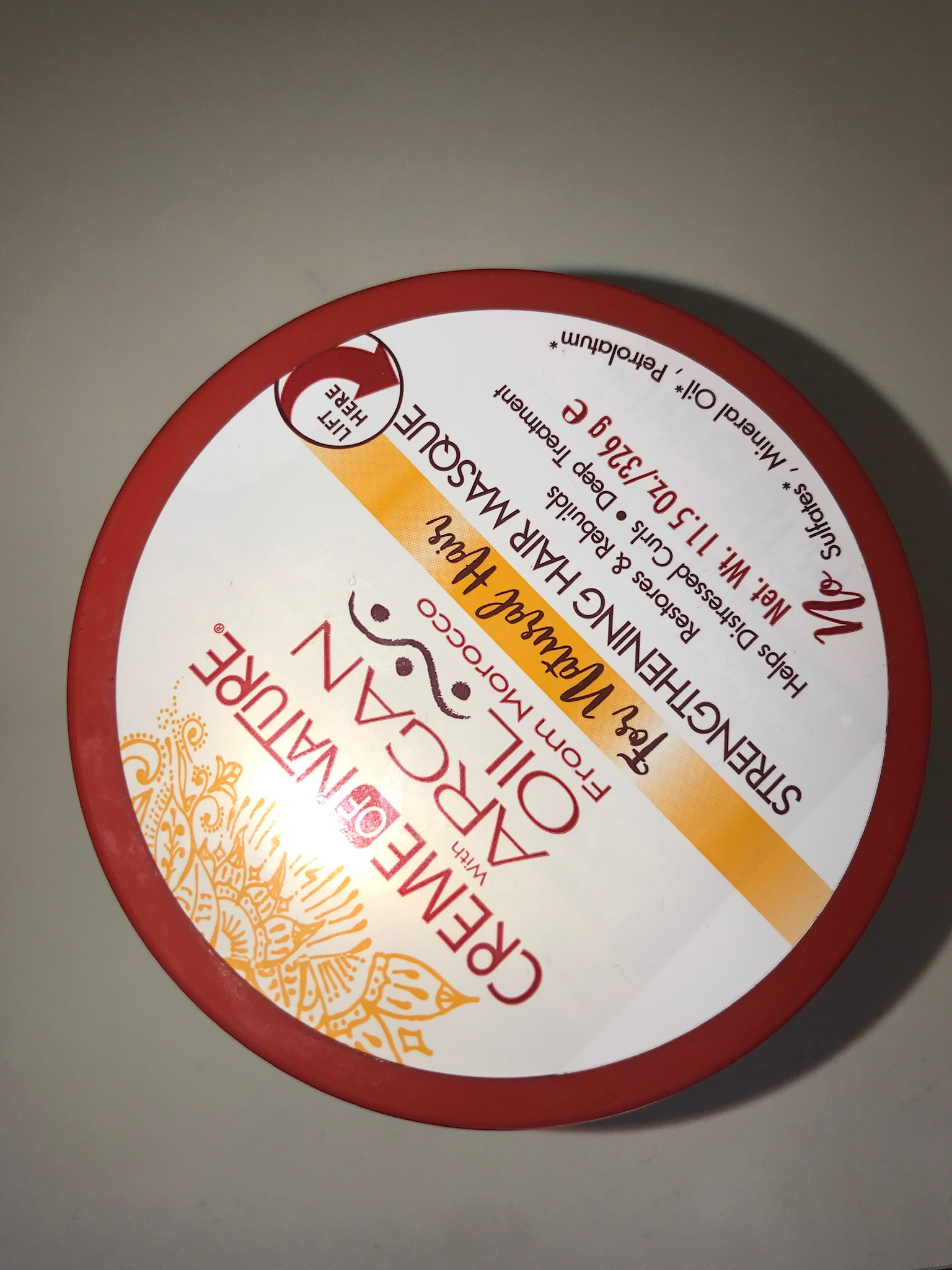 Creme of Nature with Argan