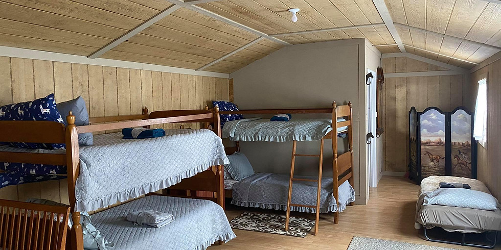 November Bed, Horse, Stall, Back Pen Reservation for Ladies Ranch Academy
