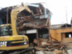 民間建屋解体