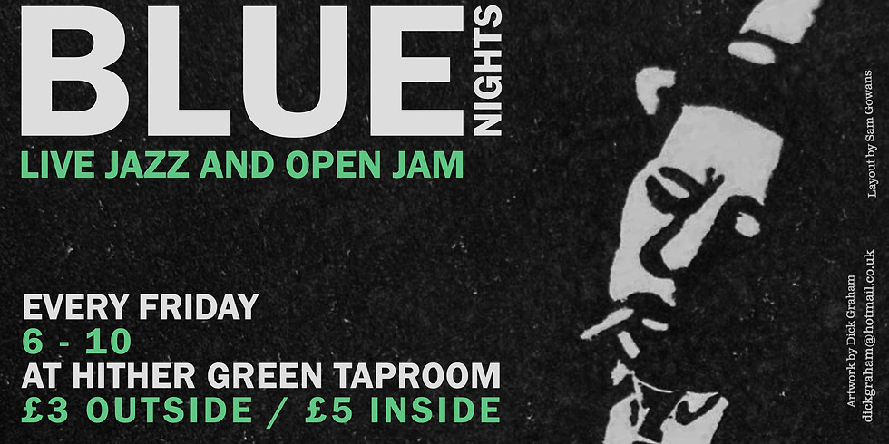 Blue Nights at Hither Green Taproom