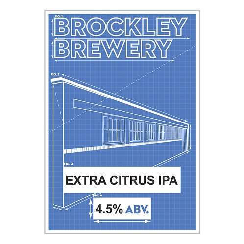 Extra Citrus IPA in 2 or 4 Pint Cartons or 5L Bag in Box