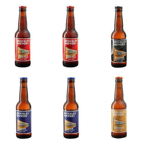 6 Brockley Bottles