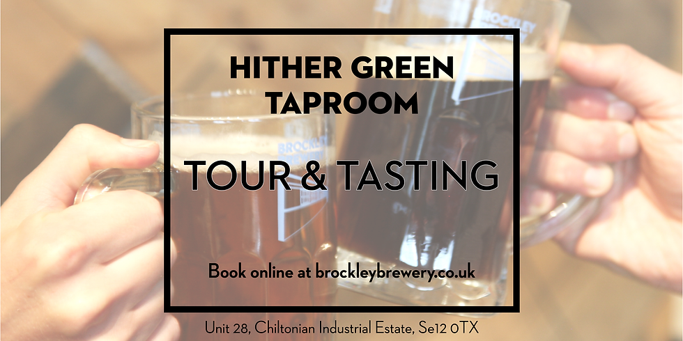 Autumn Special Tour & Tasting at Hither Green Taproom