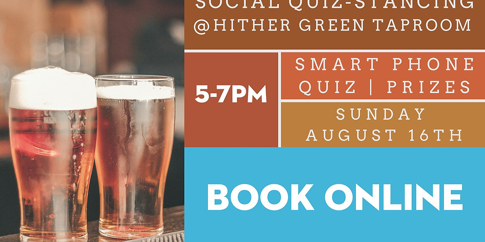 Social Quiz-Stancing at Hither Green Taproom