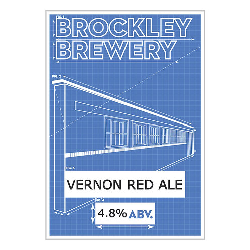 Vernon Red Ale in 2 or 4 Pint Cartons or 5L Bag in Box