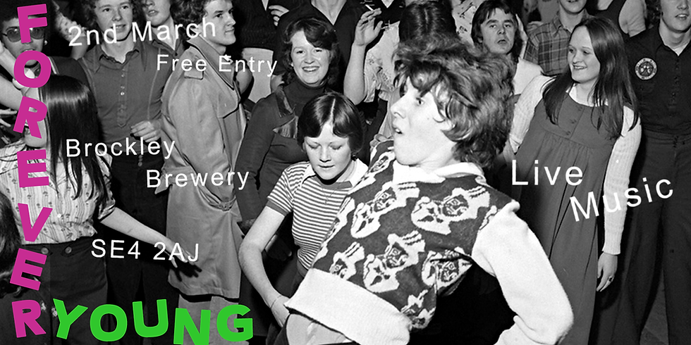 Forever Young: Launch at Brockley Brewery