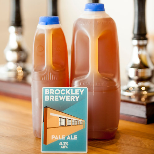 Pale Ale in 2 or 4 Pint Cartons