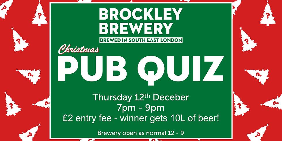 Pub Quiz: Christmas Special