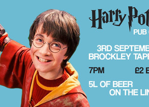 Harry Potter Quiz at Brockley Taproom!