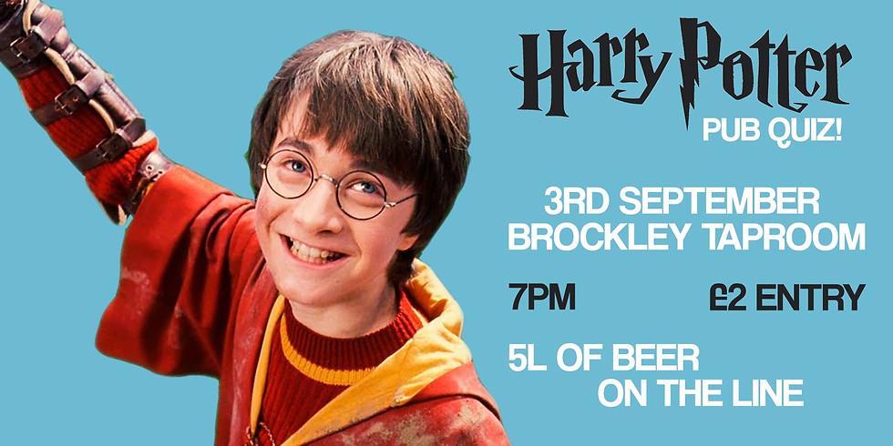 Harry Potter Quiz at Brockley Taproom