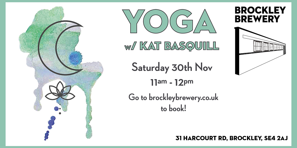 Yoga with Kat Basquill