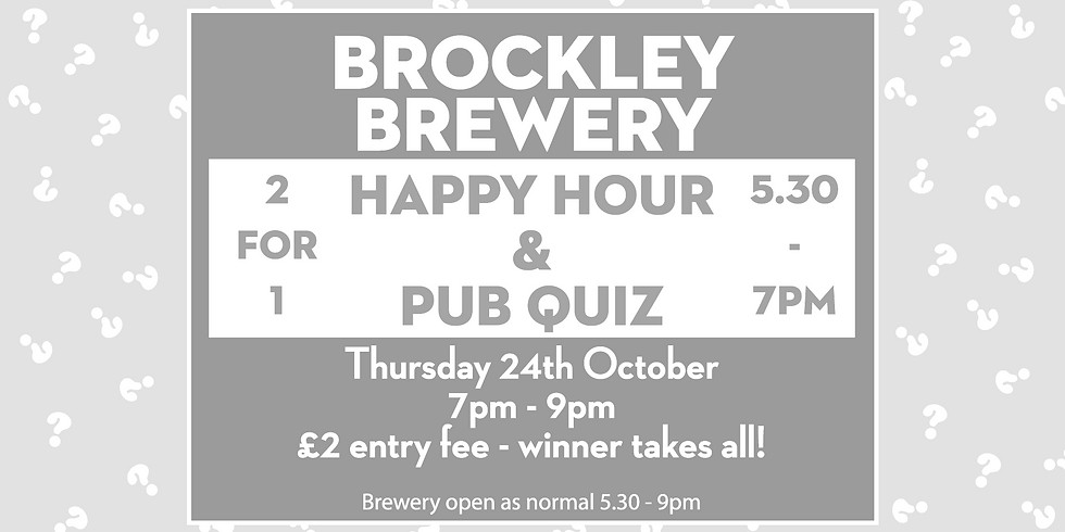 Happy Hour & Pub Quiz