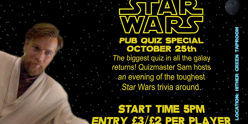 Star Wars Quiz at Hither Green Taproom