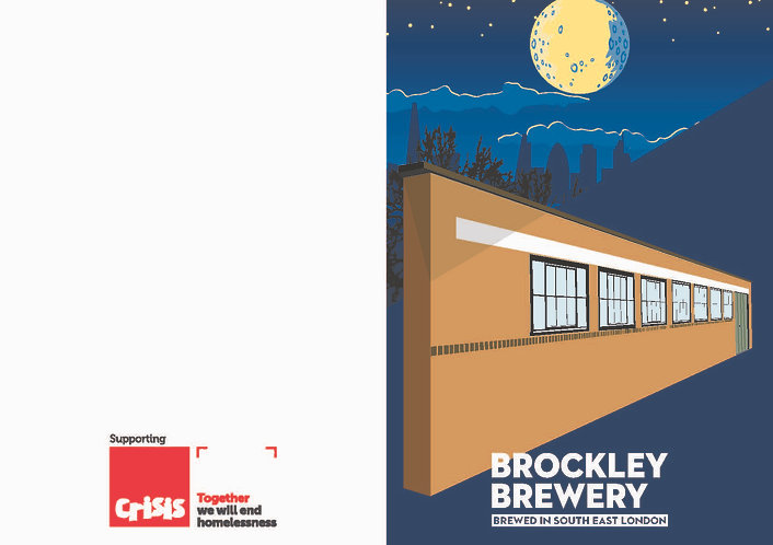 Brockley Brewery Christmas Card x5
