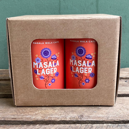 Masala Lager Cans