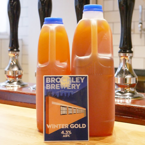 Winter Gold in 2 or 4 Pint Cartons