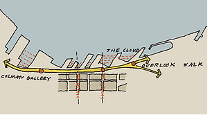 Seattle Waterfront Diagram