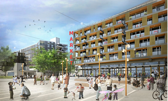 Capitol Hill TOD Rendering Plaza