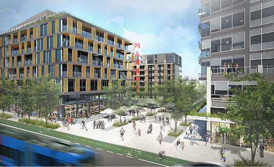 Capitol Hill TOD Rendering Broadway