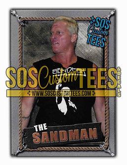 Sandman Memorabilia Trading Card - Silver