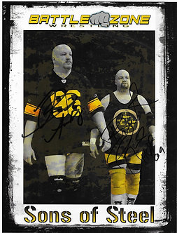 Sons of Steel Photo (Retro)