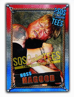 Hoss Hagood Memorabilia Card - Red White Blue
